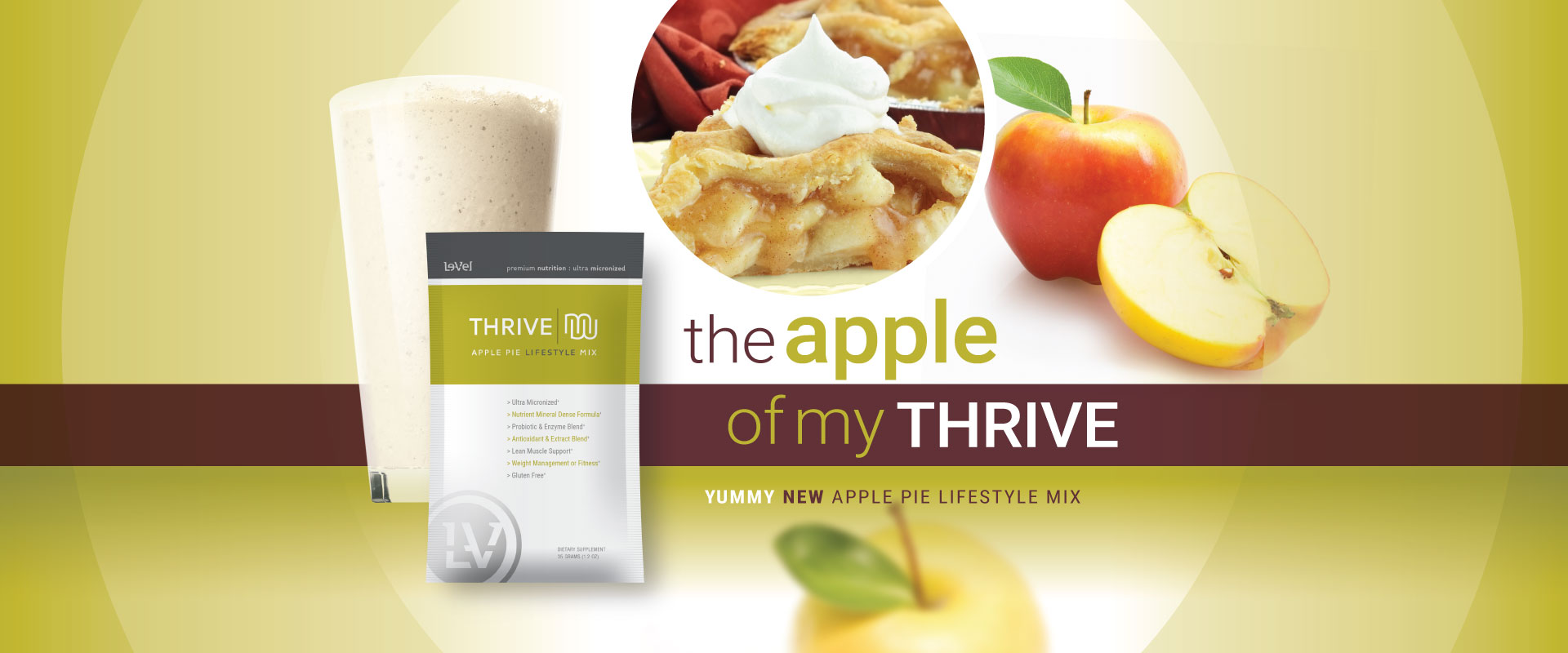 Yummy New Apple Pie Lifestyl Mix!