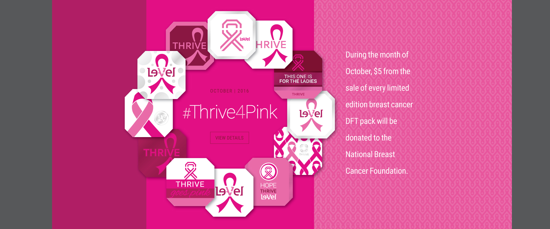 #Thrive4Pink - DFT Pink for Breast Cancer Awareness