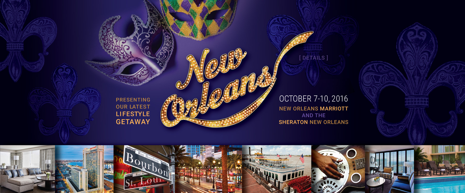 New Orleans Lifestyle Getaway!