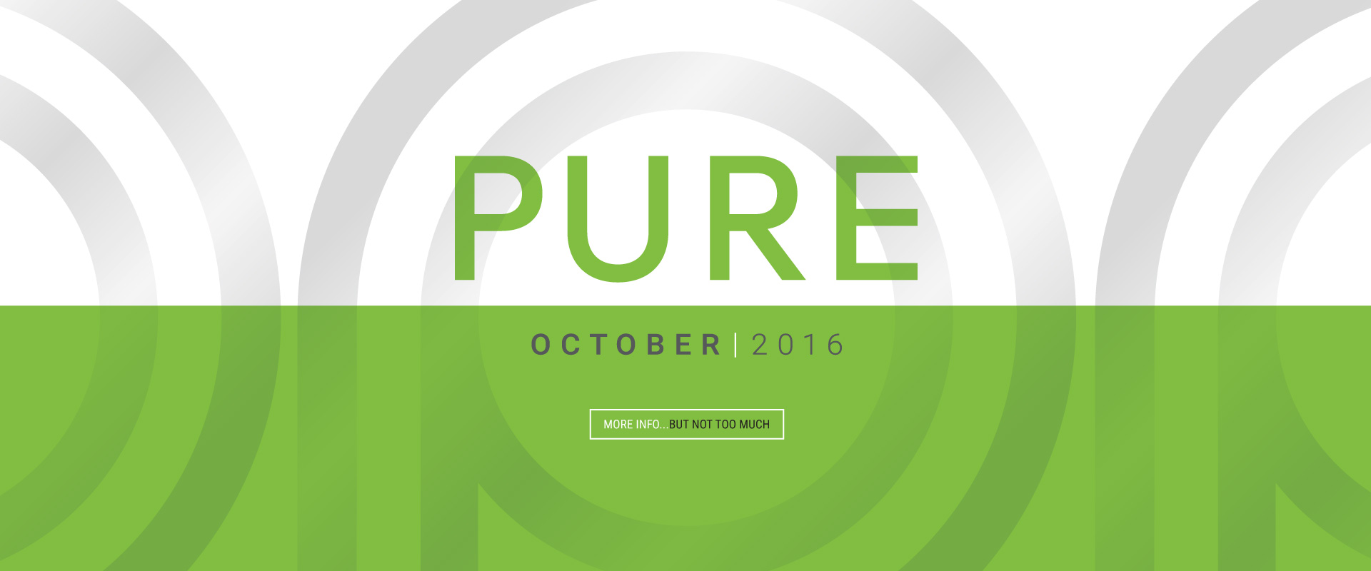 PURE - Coming October 2016