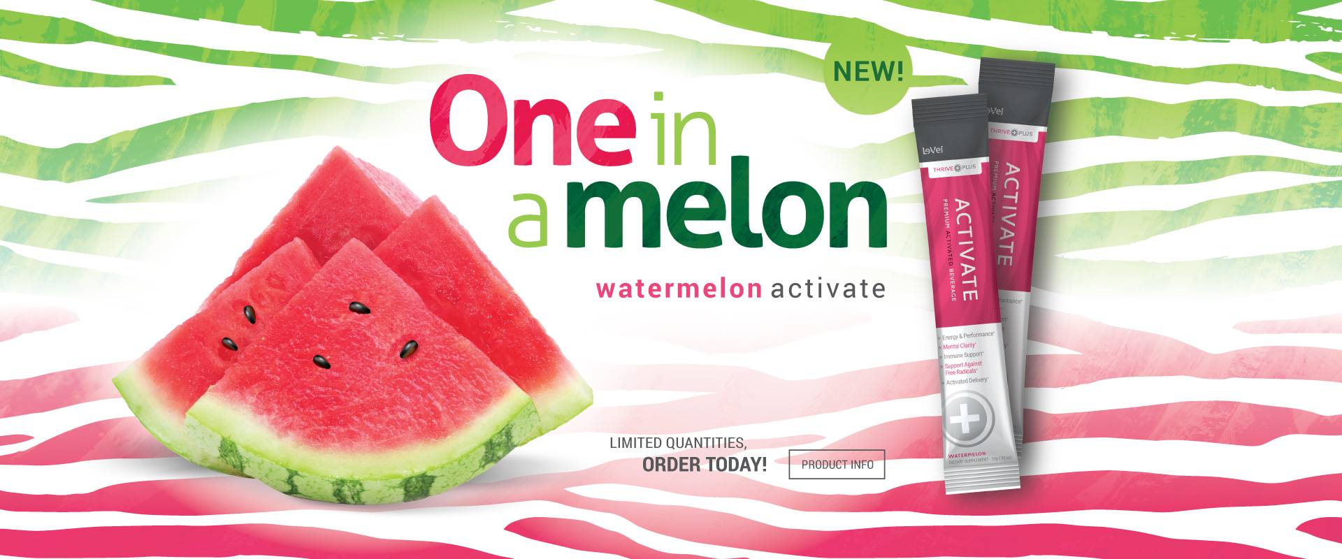 THRIVE Plus Activate Watermelon