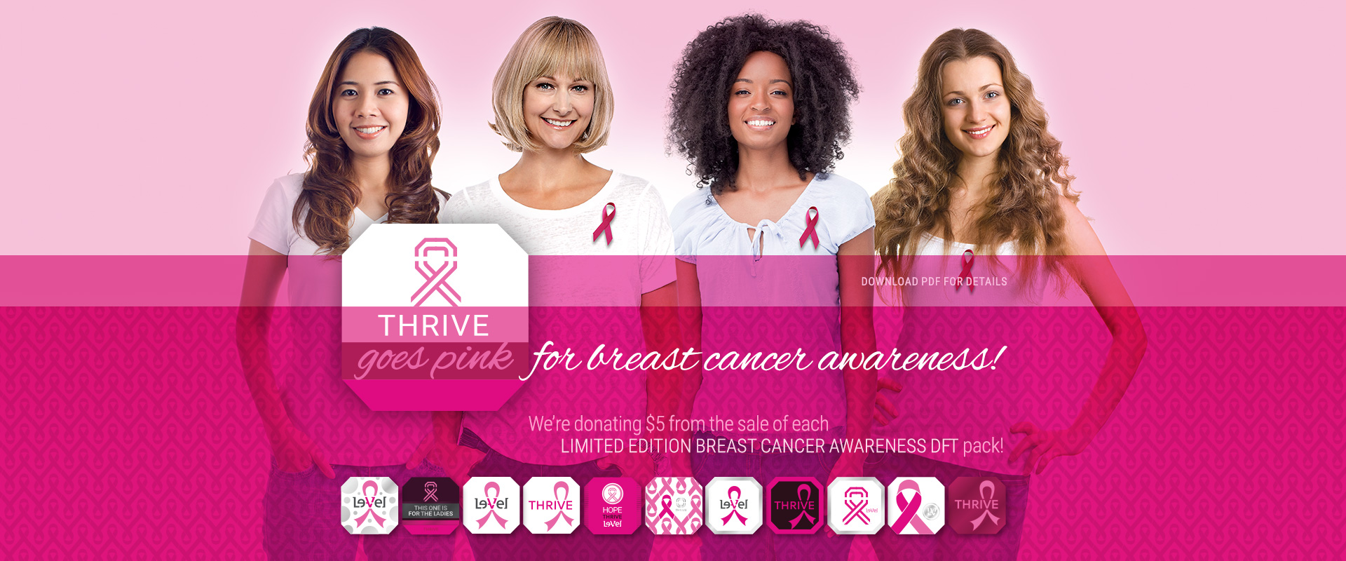 Thrive Goes Pink for Breast Cancer Awareness
