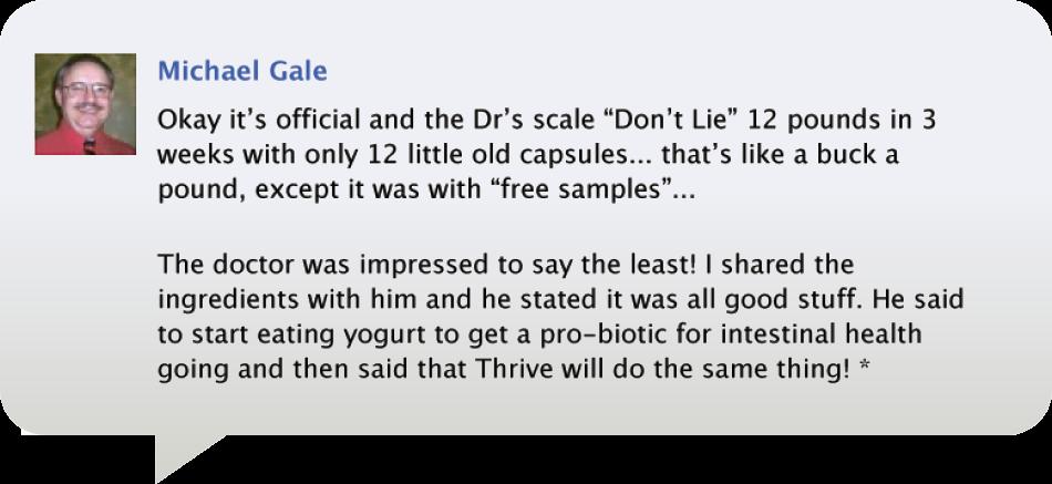 Michael Gale's Testimonial