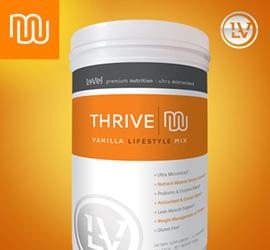 THRIVE Premium Vanilla Lifestyle Mix - Canister