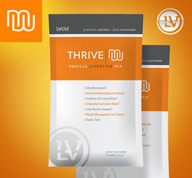 THRIVE Premium Vanilla Lifestyle Mix - Single Serve